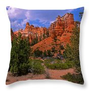 Tropic Canyon Throw Pillow