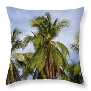 Tropical Cliche Throw Pillow
