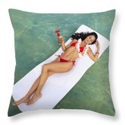 Tropical Comfort Throw Pillow