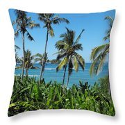 Tropical Delight Throw Pillow