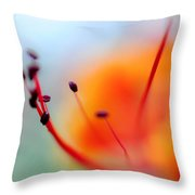 Tropical Delight. Natural Watercolor Throw Pillow