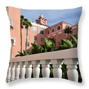Tropical Oasis Throw Pillow