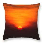 Tropical Sun V3 Throw Pillow