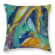 Tropicana 2 Throw Pillow by Anita Burgermeister
