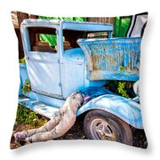 Trouble On Route 66 Throw Pillow