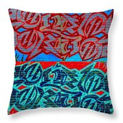 Trouble Tapestry 1 Throw Pillow