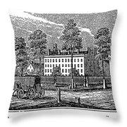 Troy Female Seminary, 1841 Throw Pillow