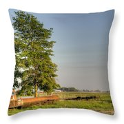 Truck And Tank 11 Throw Pillow