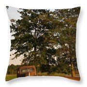 Truck And Tank 13 Throw Pillow