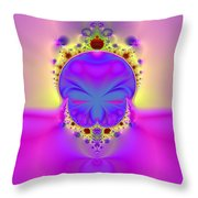 True Face Behind Those Crowns II Throw Pillow