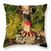 Trunked Throw Pillow