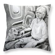 Trusted Companion Throw Pillow