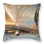 Try 7 Throw Pillow
