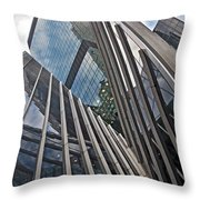 Trylon Towers Throw Pillow