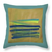 Tsunami II Throw Pillow