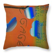Tsunami Kimono Throw Pillow