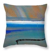 Tsunami Wave Throw Pillow