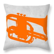 Tuba  Throw Pillow by Naxart Studio