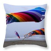 Go Fly A Kite 9 Throw Pillow