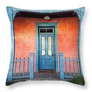 Tucson Front Porch Throw Pillow