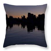 Tufa Dawn Throw Pillow