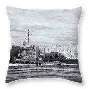 Tugboat Turecamo Girls II Throw Pillow
