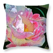 Tulip 44 Throw Pillow