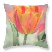 Tulip Mosaic Throw Pillow