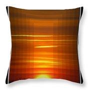 Tunnle Vision Throw Pillow