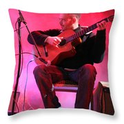 Turab Guitar Player Victor Kawas Throw Pillow