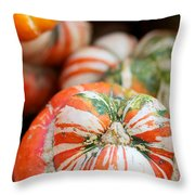 Turban Squash Throw Pillow