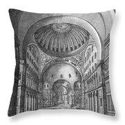 Turkey: Hagia Sophia, 1680 Throw Pillow