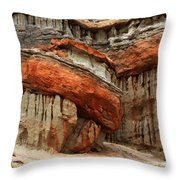 Turks Turban Sacred Earth Throw Pillow