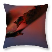 Turn Over A New Leaf Throw Pillow