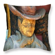 Turned To Wood Throw Pillow
