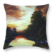 Turner's Sunrise Throw Pillow