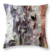 Turning Over A Different Leaf Throw Pillow