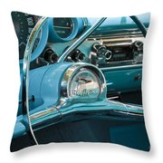 Turquoise Belair Throw Pillow