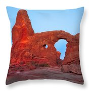 Turret Arch II Throw Pillow