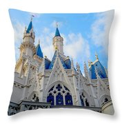 Turrets And Spires Throw Pillow
