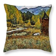Turrett - Homage Vangogh Throw Pillow