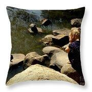 Turtle Time Throw Pillow