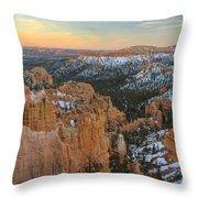 Twilight At Bryce Throw Pillow