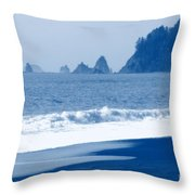 Twilight Blue Throw Pillow
