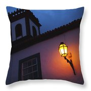 Twilight Throw Pillow by Gaspar Avila