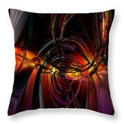 Twilight N Abstract Monster Fx  Throw Pillow