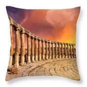 Twilight Of The Gods Throw Pillow