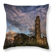 Twilight Painter Throw Pillow