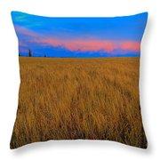 Twilight Pink Throw Pillow