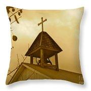 Twilight Silently Tolls Throw Pillow